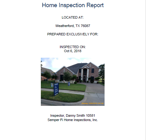 What You Can Expect to See in Your Home Inspection Report