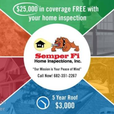 Warranties Included with All Full Home Inspections