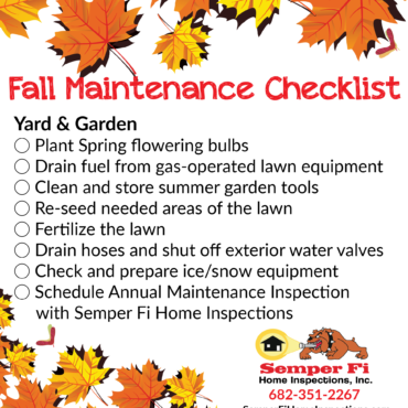 Fall Maintenance Checklist: Yard & Garden