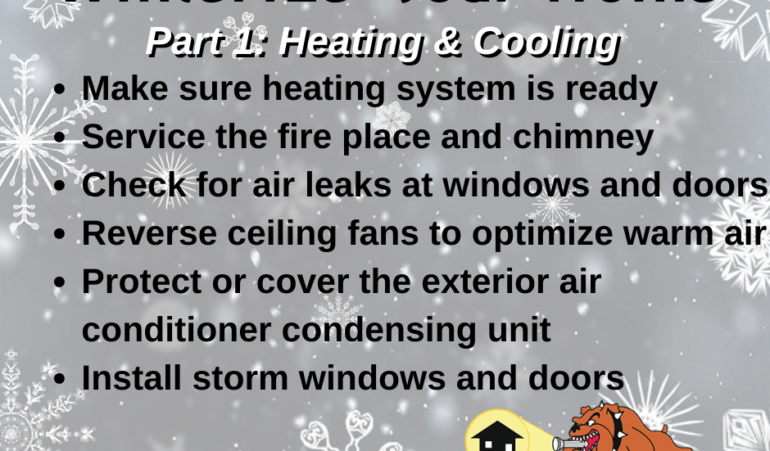 Winterize Your Home: Heating and Cooling