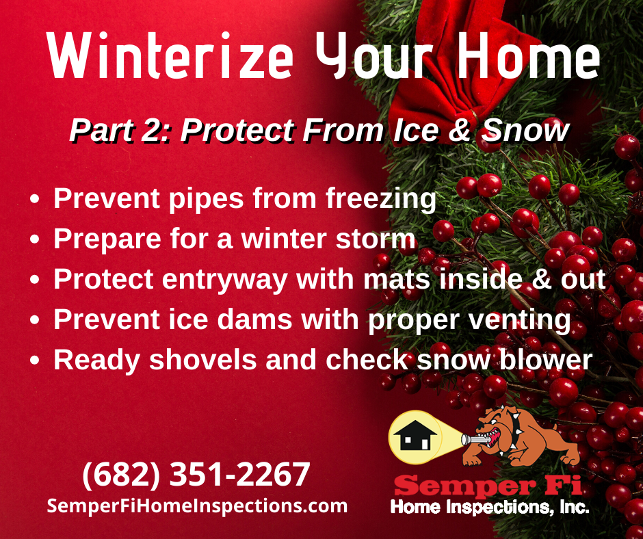winterize your home part 2