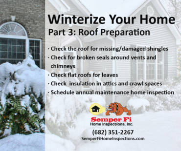 Winterize Your Home Part 3: Roof Preparation