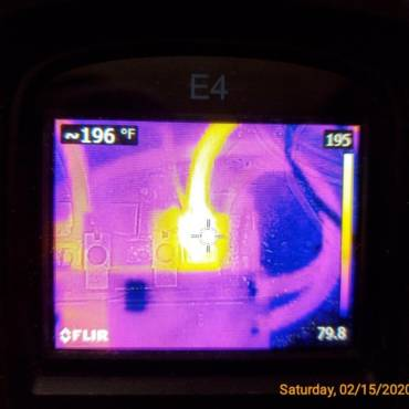 Infrared Camera Caught This Issue at a Home Inspection