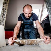 ceramic tile inspection