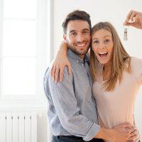 home buyer walk through