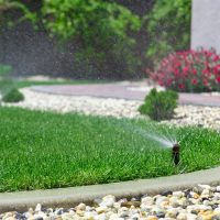 lawn sprinkler inspection